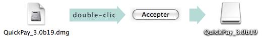 étape 1 de l'installation : monter l'image disque